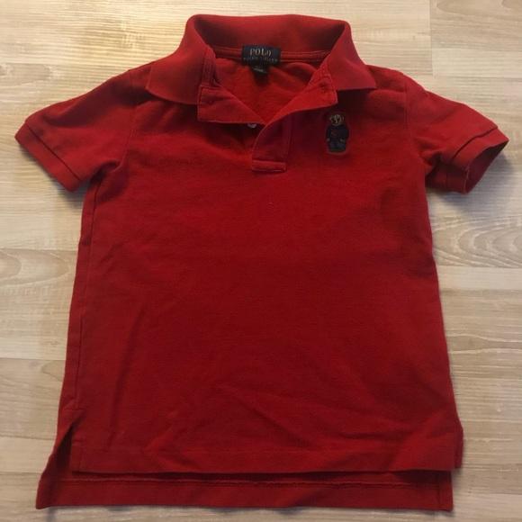 f62014cd Polo Ralph Lauren kids teddy bear polo shirt Sz 4T.  M_5af0d0e5a825a68a6343d0ec